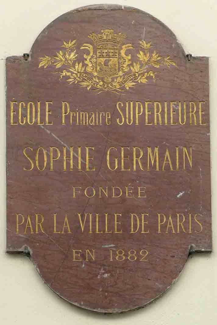 sophie germain Sophie germain: 1776 – 1831 how would you feel if your parents kept you from learning if they took away your light, your clothes, even your warmth.